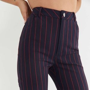 Pants - Urban Outfitters Striped Flared Pants EUC